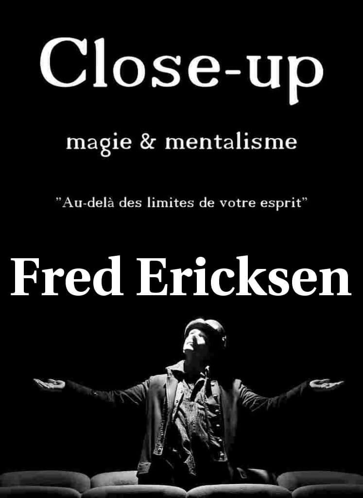 Magicien close up - affiche close up evenements - Magicien close up
