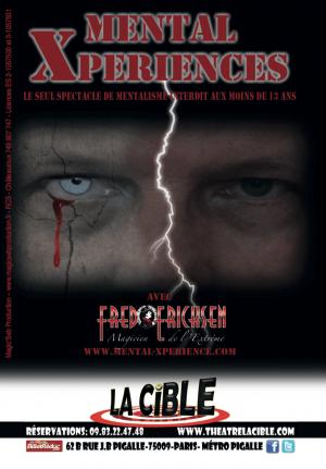 Mental Xperiences spectacle de mentalisme • Etrange Cabaret • Fred Ericksen • Magicien Lyon • Storyteller