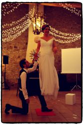 levitation 20mariage 2006 • Découvrez la magie des grandes illusions • Fred Ericksen • Magicien Lyon • Storyteller