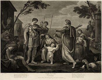 Gavin Hamilton - Coriolanus Act V, Scene III