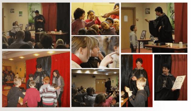 animation enfant atelier magie