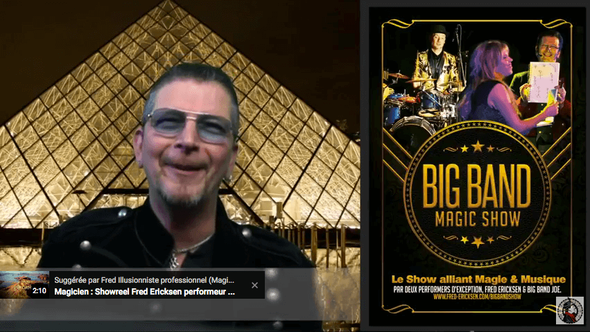 Big Band Show – Spectacle live musical et magie