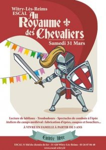 affiche journee medievale page 001 • Fêtes médiévales Mars - Avril 2018 • Fred Ericksen • Magicien Lyon • Storyteller