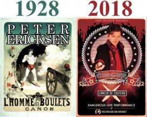 affiche famille • Peter Ericksen VS Fred Ericksen • Fred Ericksen • Magicien Lyon • Storyteller