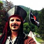 bulles de savon géantes bateau pirate 01 • Nouveauté tout en bulles ! • Fred Ericksen • Magicien Lyon • Storyteller