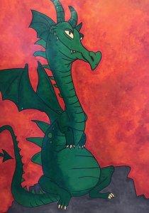 le dragon de marie