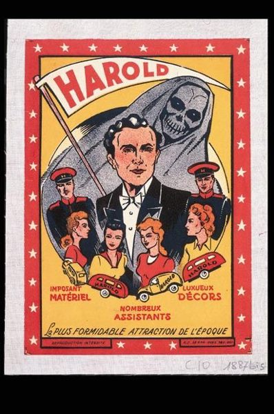 Collection privée d'affiches de spectacle de magie & mentalisme
