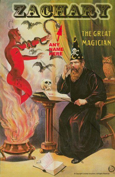 Collection privée des affiches de spectacles de magie - fred ericksen - magicien lyon - mentaliste lyon