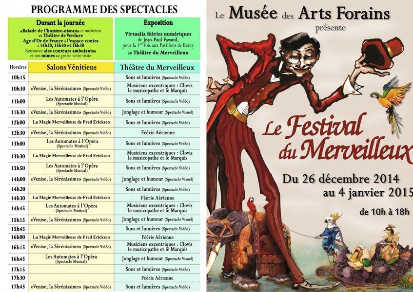 musée arts forains - magie merveilleuse fred ericksen