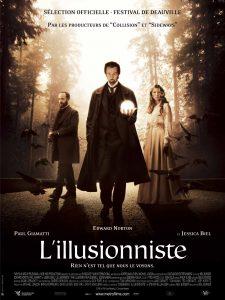 L'illusionniste - films sur la magie - magicien Lyon