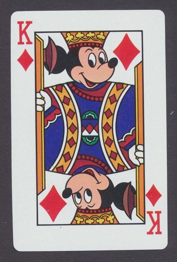 collection jeu de cartes disney 04 • Collection jeu de cartes disney • Fred Ericksen • Magicien Lyon • Storyteller