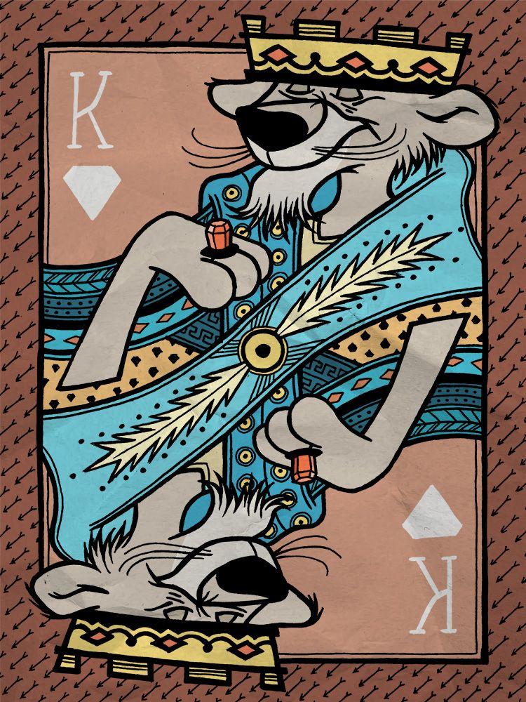 collection jeu de cartes disney 19 • Collection jeu de cartes disney • Fred Ericksen • Magicien Lyon • Storyteller
