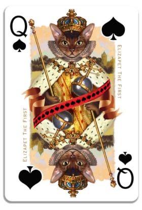 collection privée jeu de cartes animaux