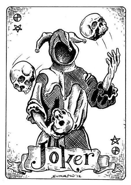 collection privee cartes à jouer fred ericksen magicien 003 • Collection privée Joker • Fred Ericksen • Magicien Lyon • Storyteller