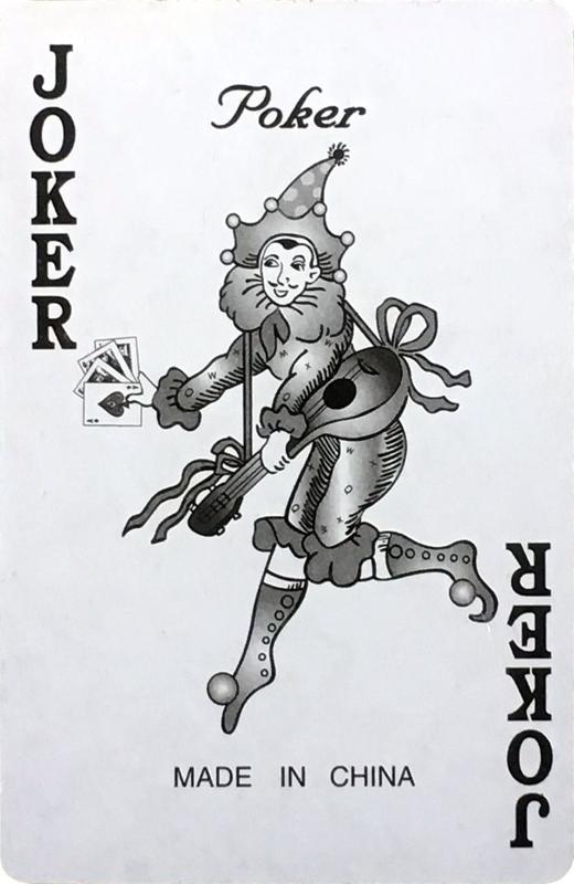 collection privee cartes à jouer fred ericksen magicien 032 • Collection privée Joker • Fred Ericksen • Magicien Lyon • Storyteller