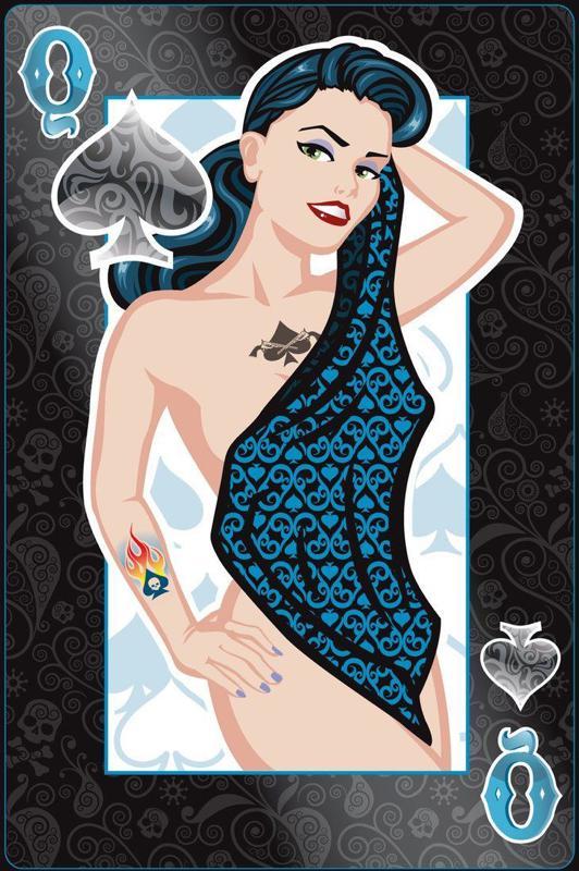 Collection privée des cartes à jouer sexy de Fred Ericksen