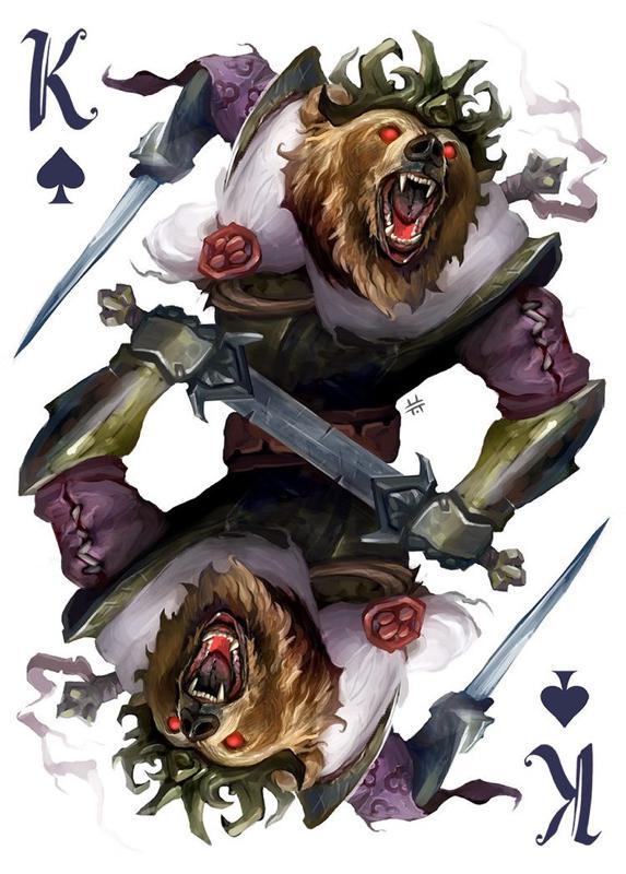 collection privee cartes à jouer fred ericksen magicien 346 • Collection privée Animaux • Fred Ericksen • Magicien Lyon • Storyteller