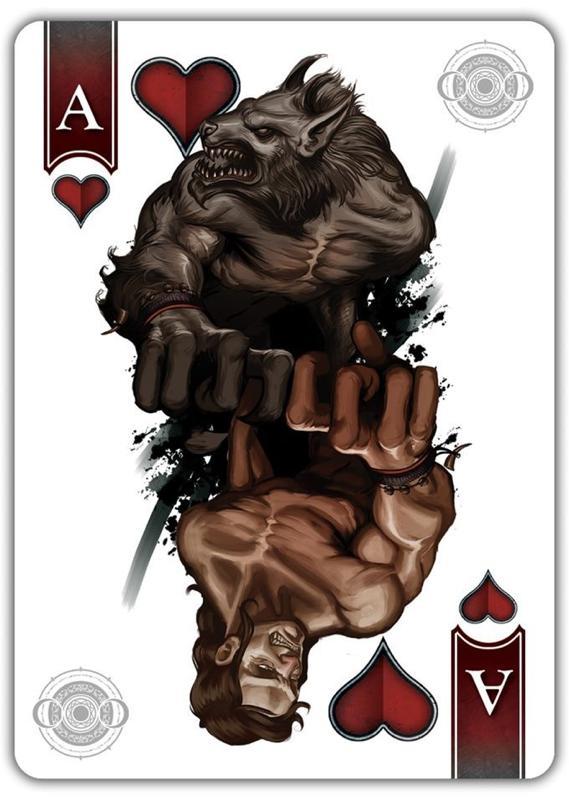 collection privee cartes à jouer fred ericksen magicien 347 • Collection privée Animaux • Fred Ericksen • Magicien Lyon • Storyteller