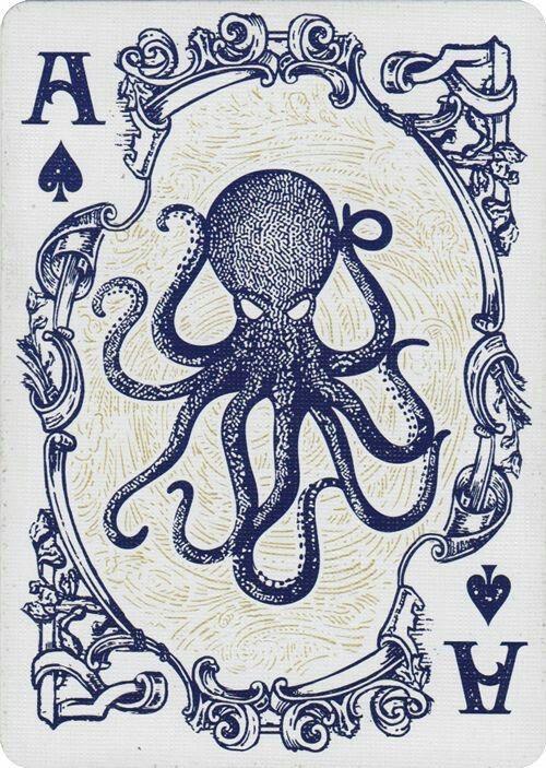 Collection privée des cartes à jouer animaux de Fred Ericksen