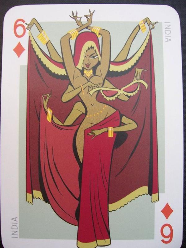 Collection privée des cartes à jouer pays de Fred Ericksen