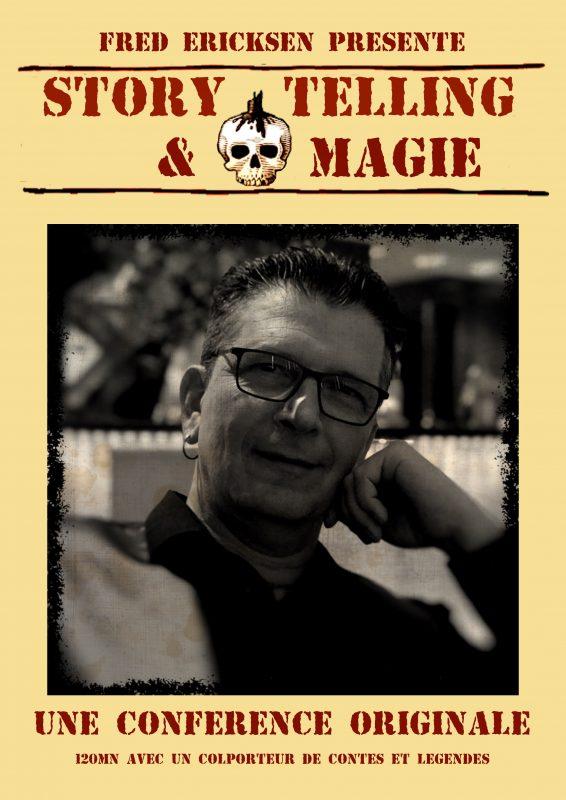conférence storytelling et magie