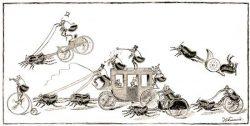 flea circus - Les spectacles avec puces savantes