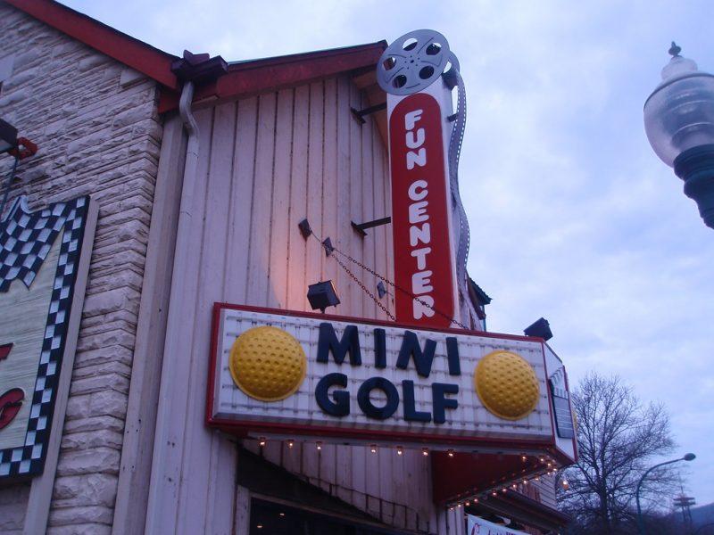 Golf miniature